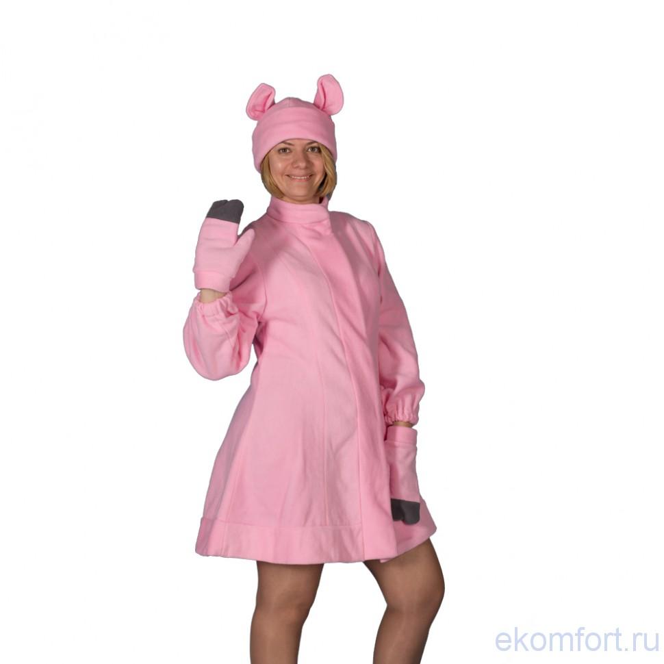 Костюм свиньи на взрослого