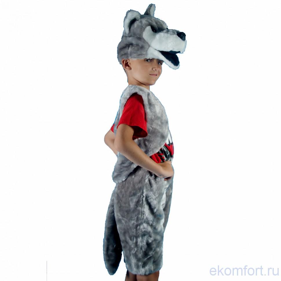 Костюм волка для мальчика своими руками на новый год