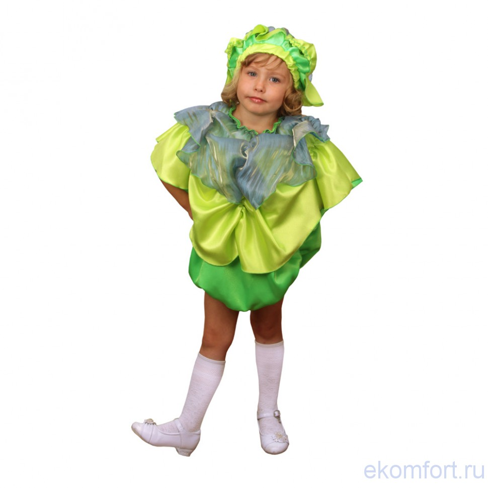 Костюм капусты для мальчика мастер класс