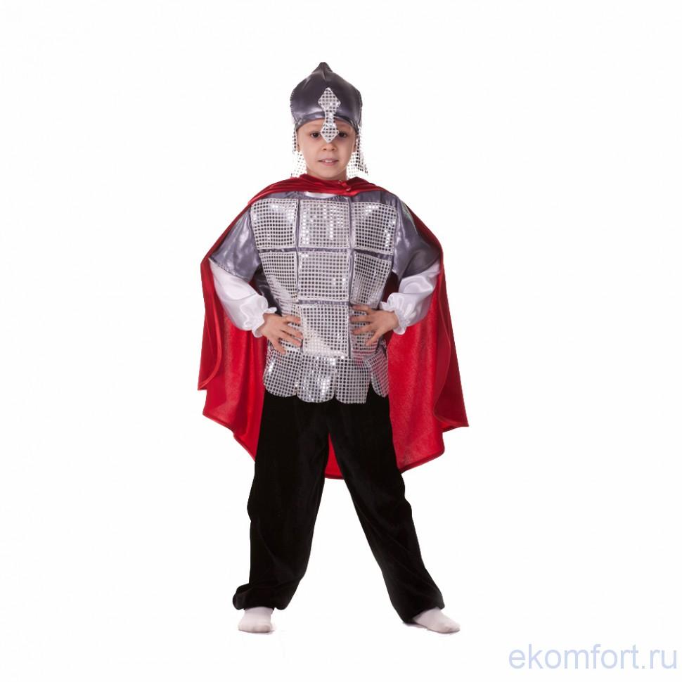 Костюм богатыря для мальчика