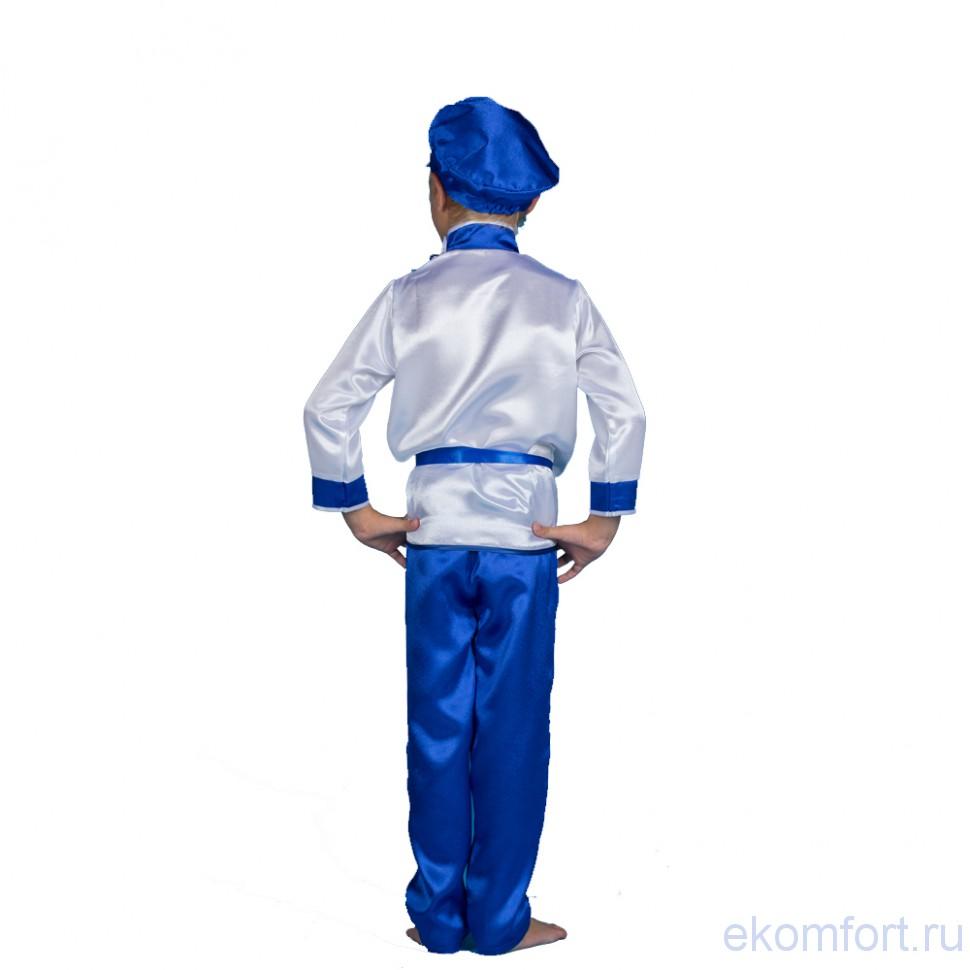 Карнавальный костюм Кжель для мальчиков. Гжель масленица - photo#29