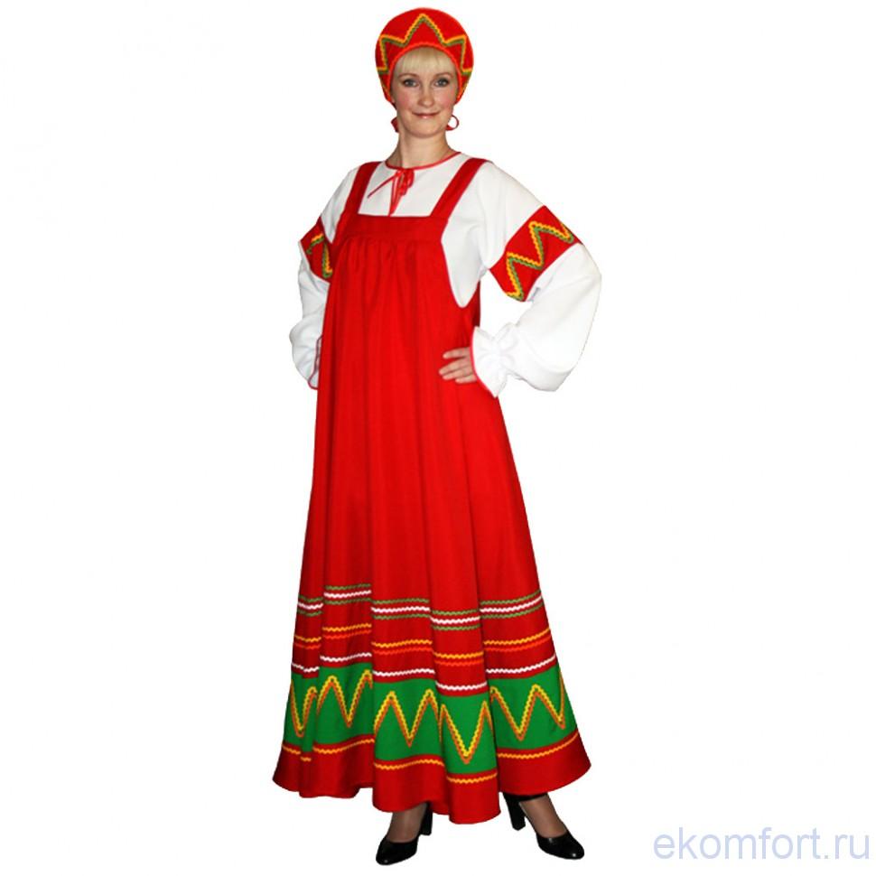 Народный костюм русского народа для детей своими руками