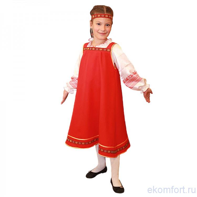 Сарафан для девочки русский народный фото своими руками