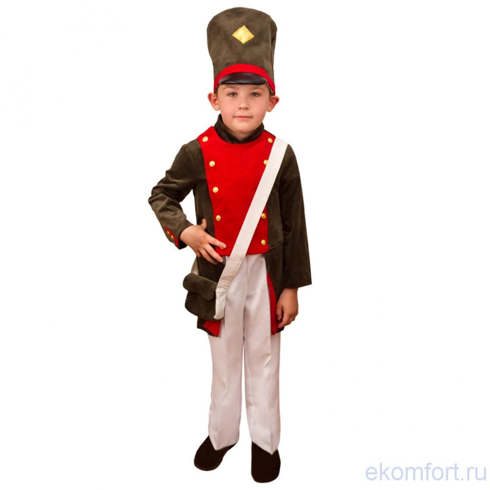 Костюм оловянного солдатика фото