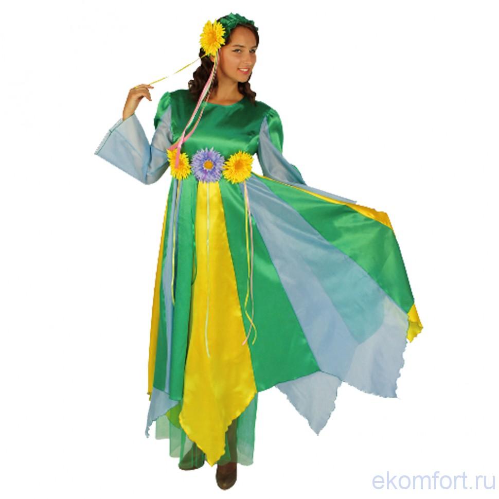 Карнавальный костюм Весна (взрослый) для девушки взрослые ... - photo#39