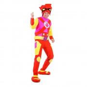 Карнавальный костюм «Файер на взрослых» из м/ф «Фиксики»