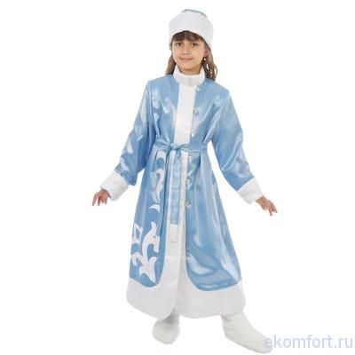 Костюм снегурочки из халата своими руками