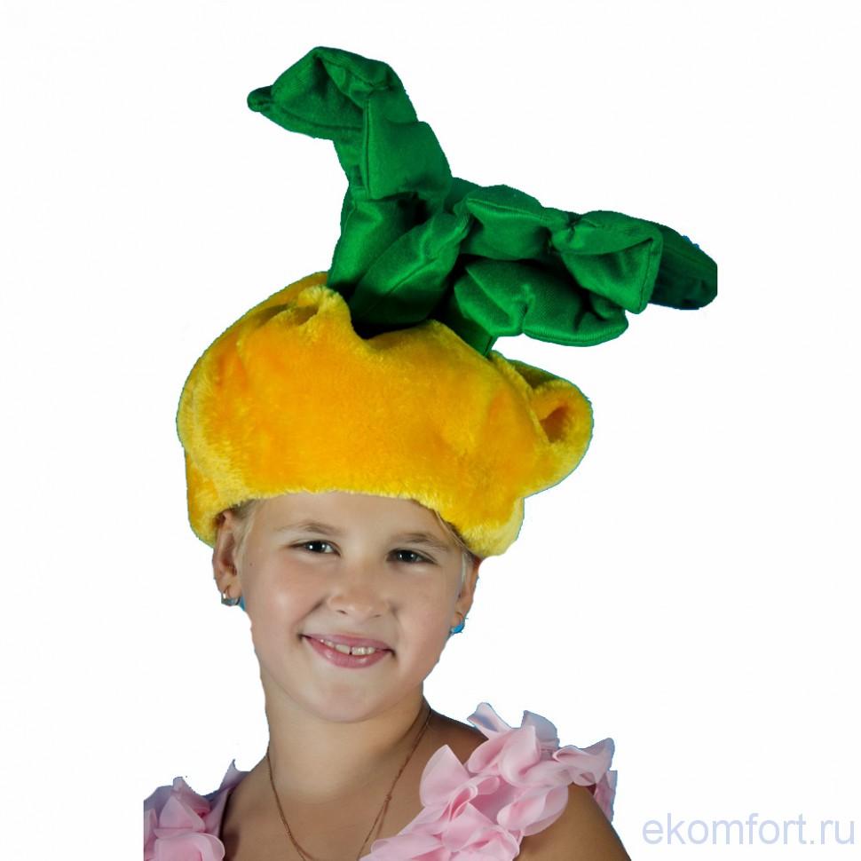 Как сделать шапочку репки