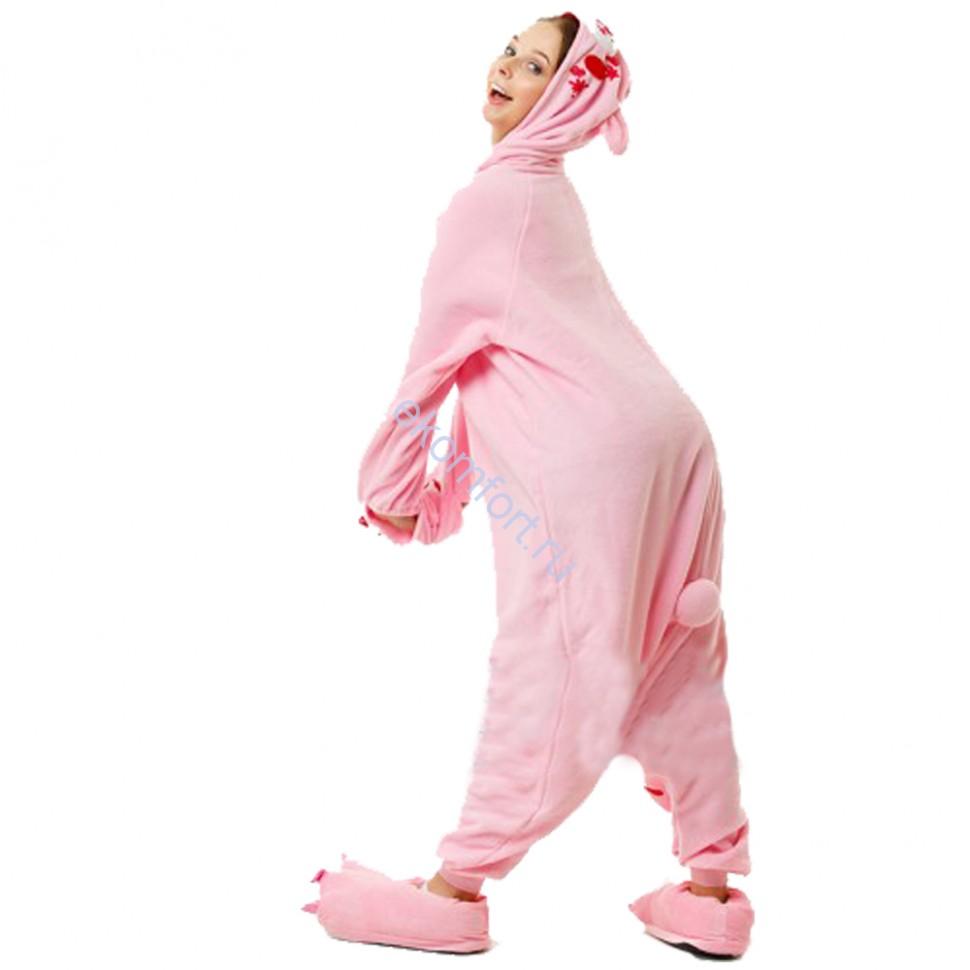 Карнавальная пижама Медведь розовый 00840787246c1