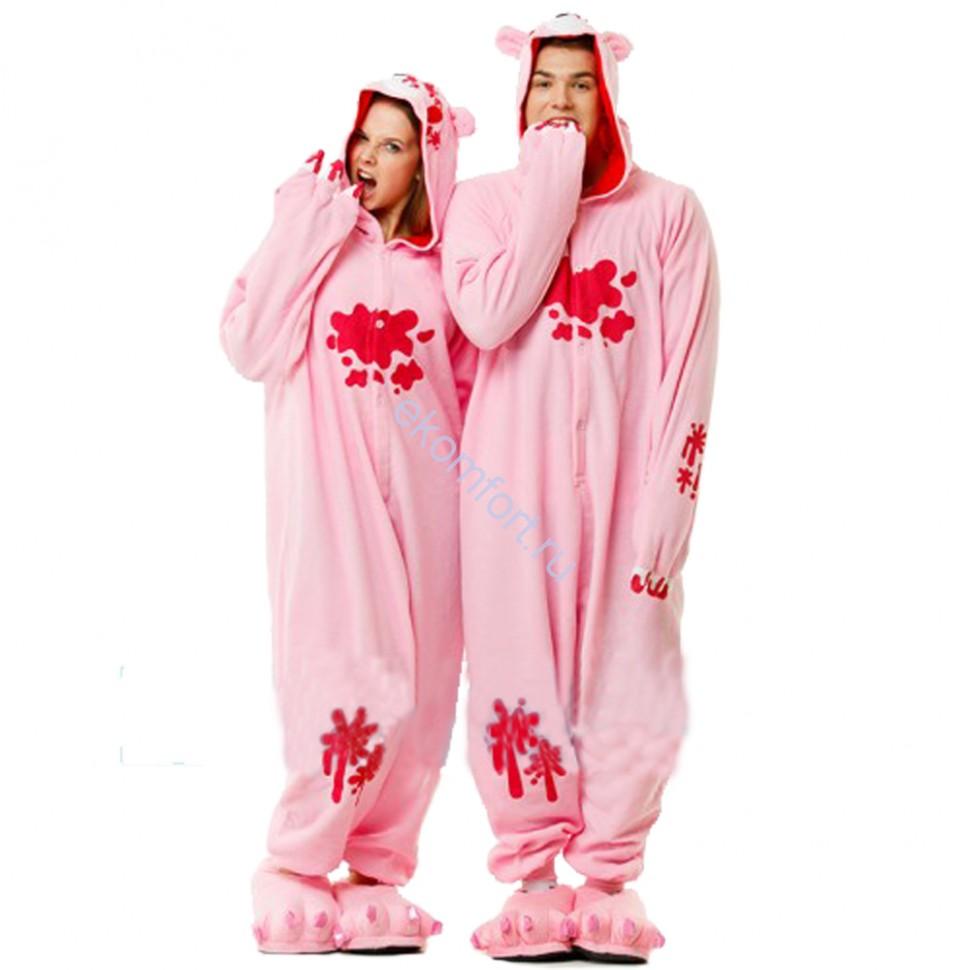 Карнавальная пижама Медведь розовый - fa650da048f6a