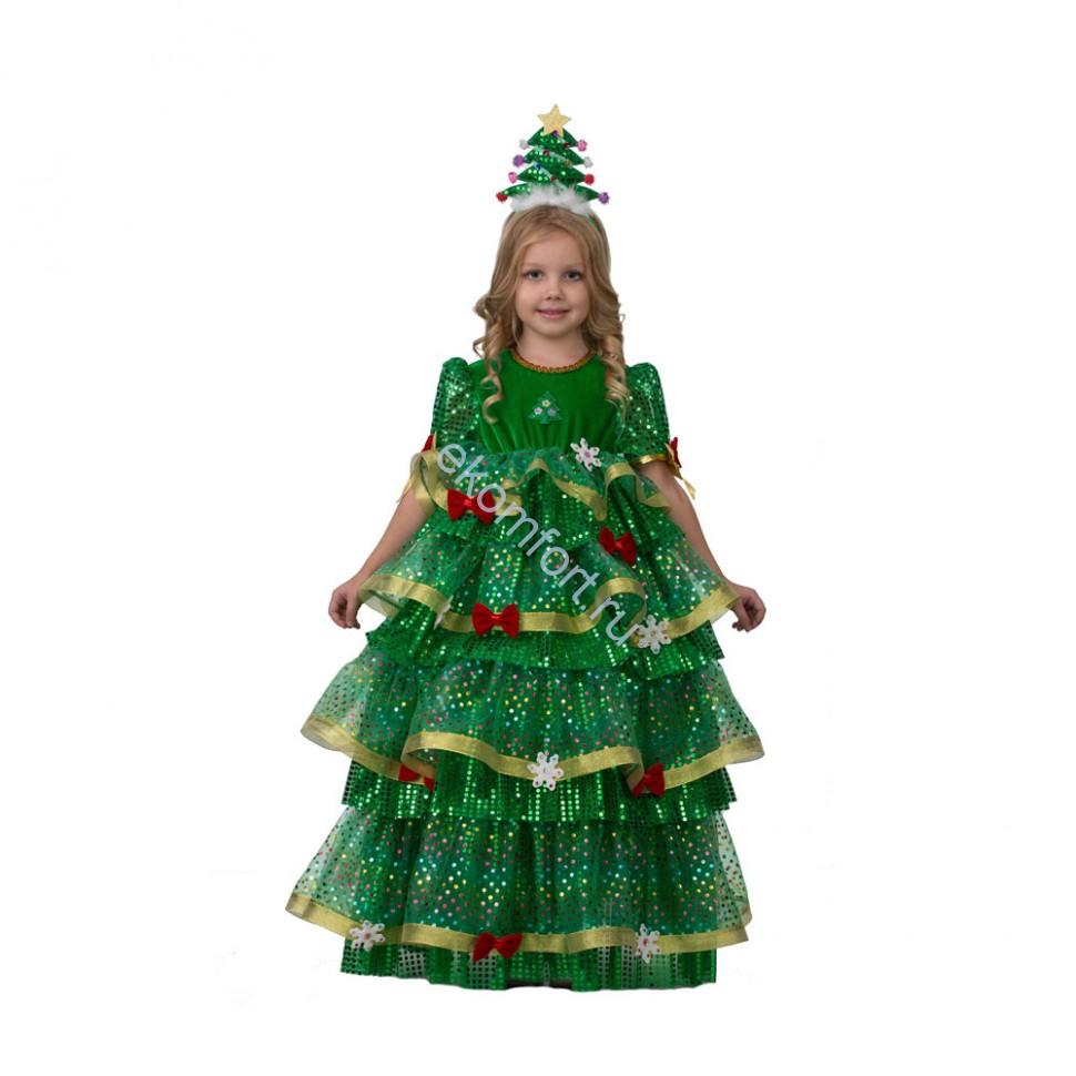 Карнавальный костюм Ёлочка-Царица елка Новый Год елочка - photo#34