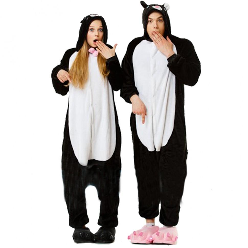 Карнавальная пижама Черный Кот. - 2 890 руб. для девушки котик 13a2f4429fb62