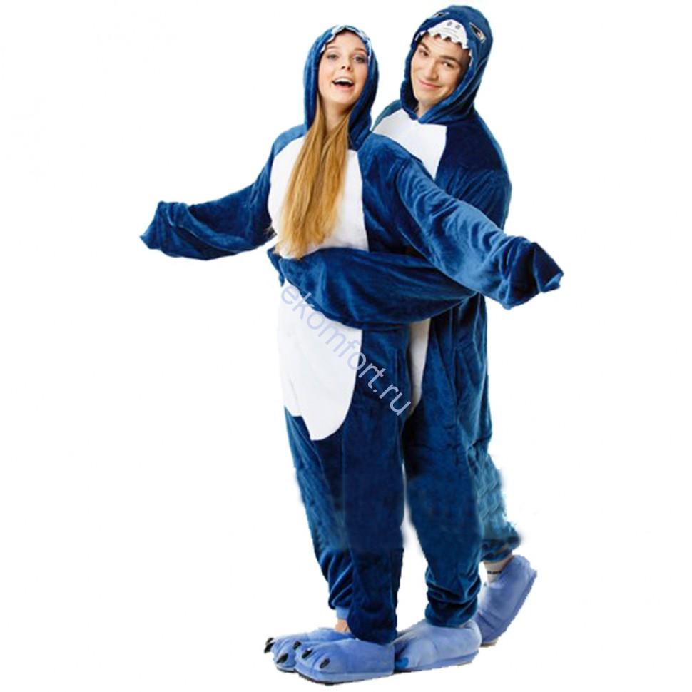 Карнавальная пижама Кигуруми Акула. - 2 890 руб. Пижама кигуруми. Акула a03fe0c460e6b