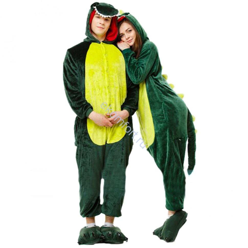 Карнавальная пижама кигуруми Зеленый Динозавр - 2 890 руб. 10f888c525beb