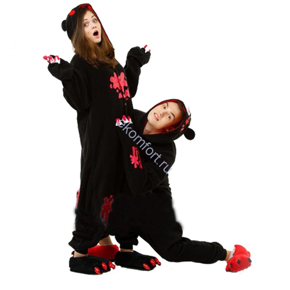 Кигуруми Черный Медведь - 2 890 руб. b874e08043999