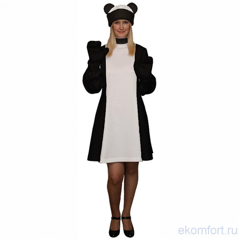 Карнавальный костюм Панда платье 64fcf12a6ebf2