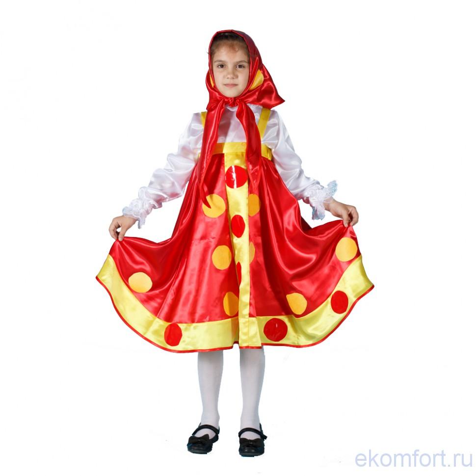 Костюм Матрешка для девочки купить в Москве - 2 050 руб. e1a85054bac06